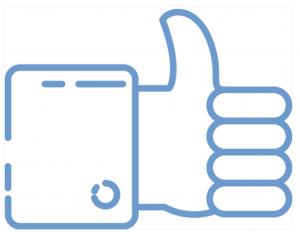 Icono redes sociales Yedra Comunicación.